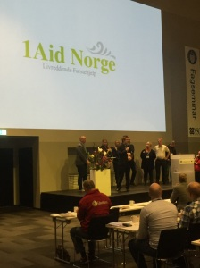 1Aid Norge på NSO sitt fagseminar for industrivern  desember 2015.