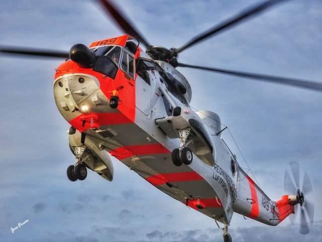 Illustrasjonsbilde, Sea-King Redningshelikopter. BILDE: Jose Carlos Pessoa Figueiredo